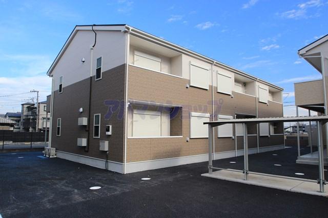 埼玉県川越市、西川越駅徒歩32分の新築 2階建の賃貸アパート