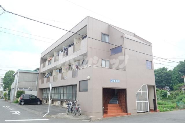 埼玉県鶴ヶ島市、若葉駅徒歩23分の築34年 3階建の賃貸マンション