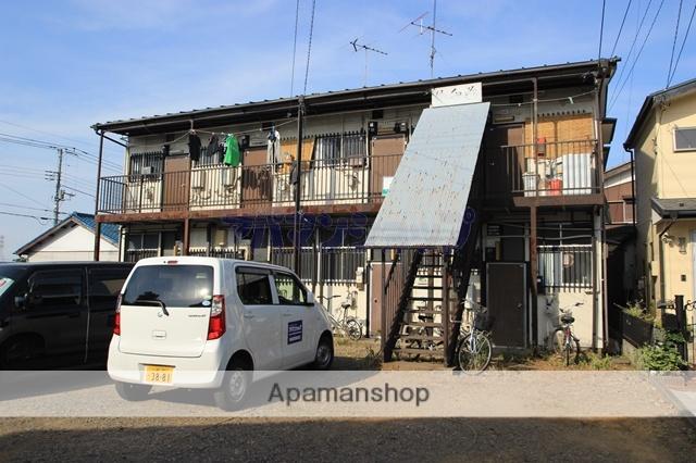 埼玉県川越市、的場駅徒歩23分の築45年 2階建の賃貸アパート