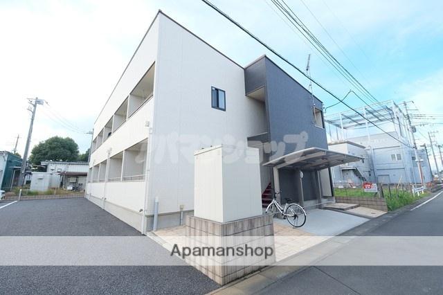 埼玉県坂戸市、北坂戸駅徒歩18分の築1年 2階建の賃貸アパート