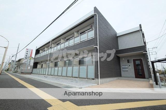 埼玉県東松山市、高坂駅徒歩3分の築1年 2階建の賃貸アパート