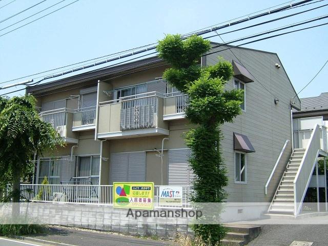 埼玉県川越市、霞ヶ関駅徒歩10分の築29年 2階建の賃貸アパート