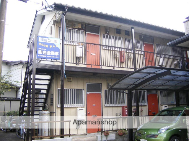 埼玉県鶴ヶ島市、鶴ヶ島駅徒歩14分の築33年 2階建の賃貸アパート