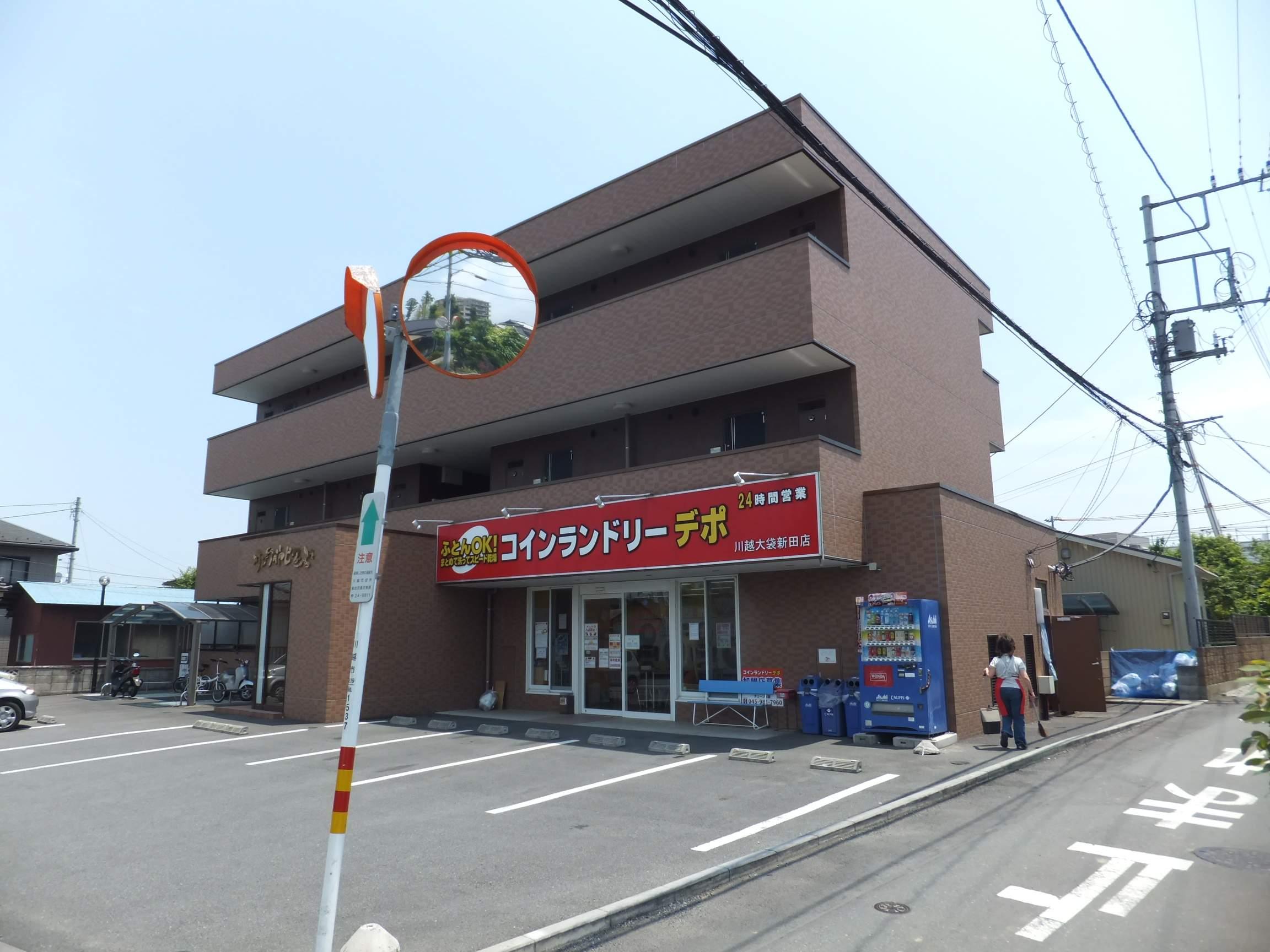 埼玉県川越市、川越駅徒歩49分の築9年 3階建の賃貸マンション