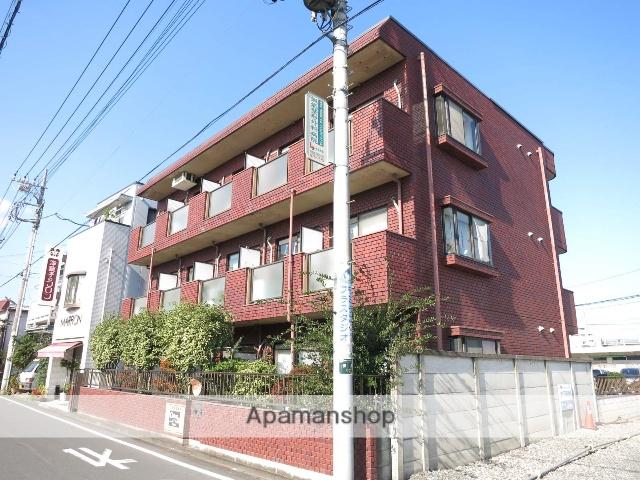 埼玉県飯能市、東飯能駅徒歩4分の築28年 3階建の賃貸マンション