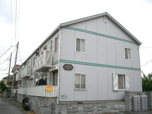 埼玉県入間市、入間市駅徒歩15分の築22年 2階建の賃貸アパート