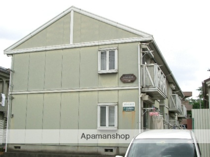 埼玉県入間市、入間市駅徒歩10分の築26年 2階建の賃貸アパート