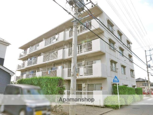 埼玉県入間市、入間市駅徒歩18分の築29年 4階建の賃貸マンション