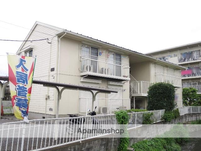 埼玉県狭山市、入間市駅徒歩26分の築22年 2階建の賃貸アパート