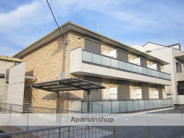 埼玉県飯能市、東飯能駅徒歩10分の築5年 2階建の賃貸アパート