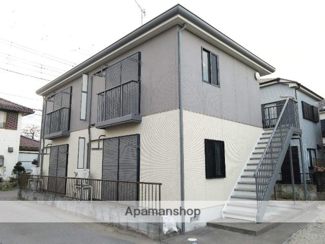 埼玉県入間市、武蔵藤沢駅徒歩9分の築15年 2階建の賃貸アパート