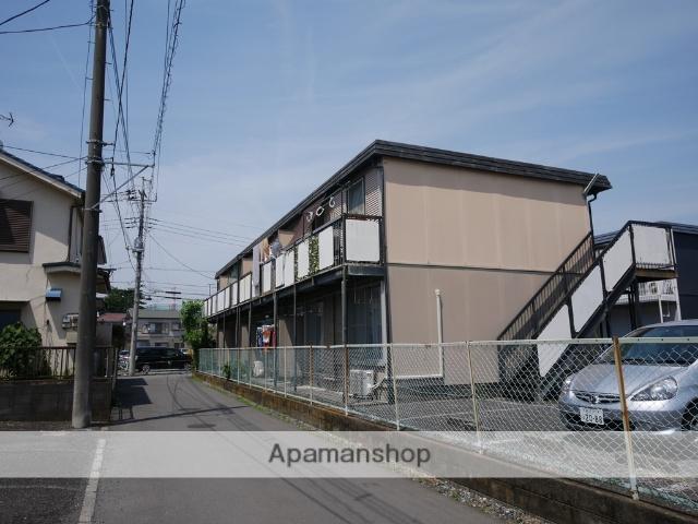 埼玉県狭山市、新狭山駅徒歩6分の築35年 2階建の賃貸アパート