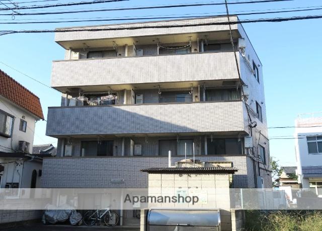 埼玉県入間市、入間市駅徒歩10分の築25年 4階建の賃貸マンション