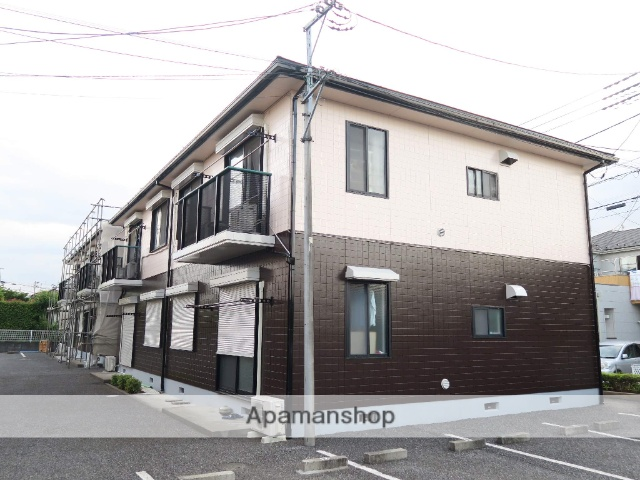 埼玉県入間市、武蔵藤沢駅徒歩24分の築22年 2階建の賃貸アパート