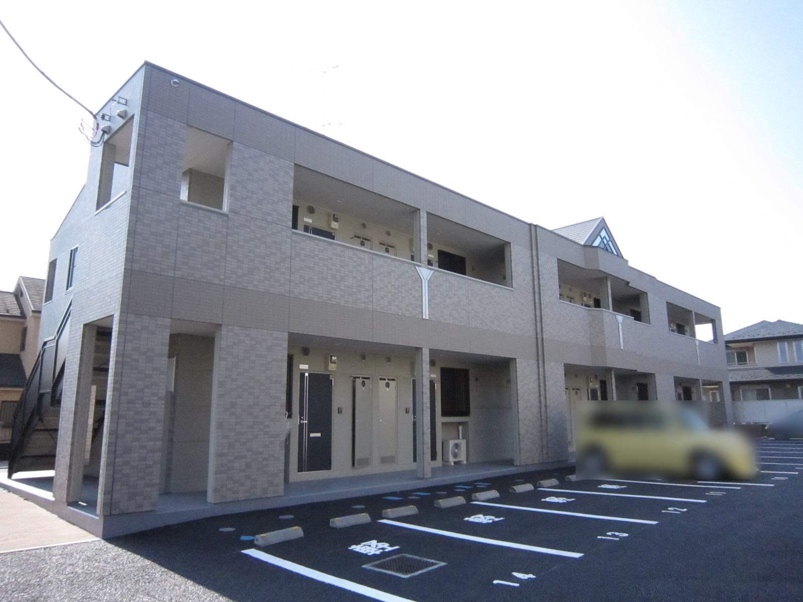 埼玉県入間市、仏子駅徒歩16分の築6年 2階建の賃貸アパート