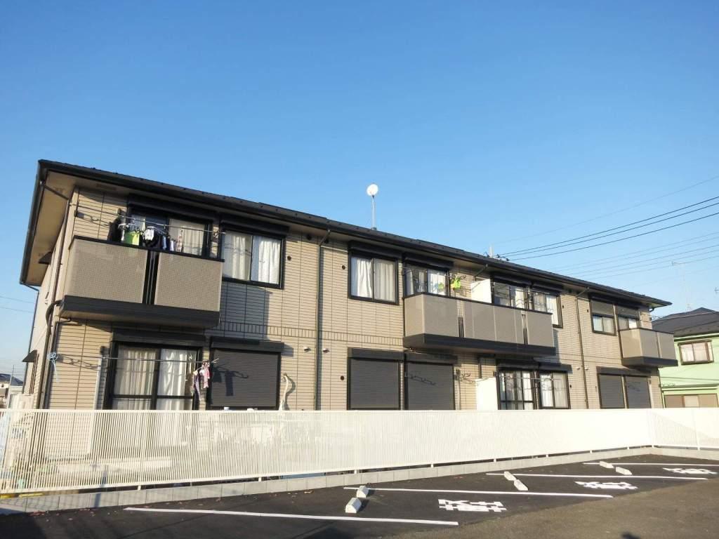 埼玉県飯能市、元加治駅徒歩24分の築18年 2階建の賃貸アパート