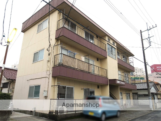 埼玉県入間市、入間市駅徒歩3分の築35年 3階建の賃貸マンション