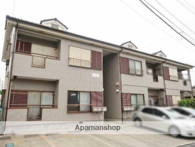 埼玉県入間市、元加治駅徒歩5分の築20年 2階建の賃貸アパート
