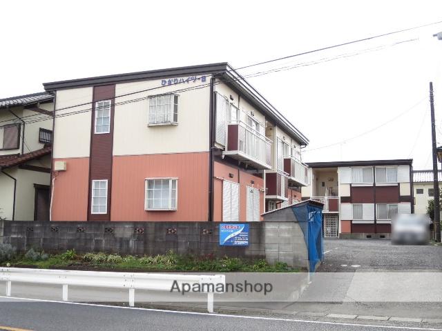 埼玉県入間市、元加治駅徒歩10分の築25年 2階建の賃貸アパート