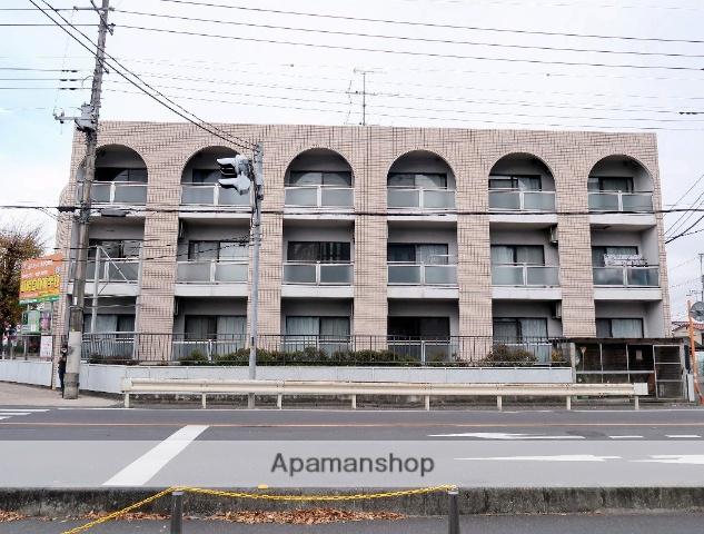 埼玉県飯能市、飯能駅徒歩1分の築23年 3階建の賃貸マンション