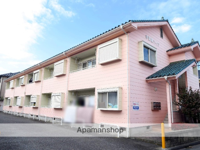 埼玉県入間市、仏子駅徒歩15分の築25年 2階建の賃貸アパート