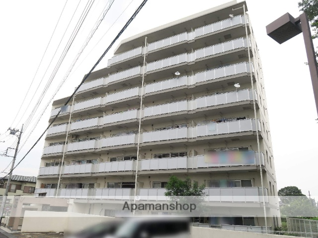 埼玉県入間市、稲荷山公園駅徒歩19分の築23年 8階建の賃貸マンション