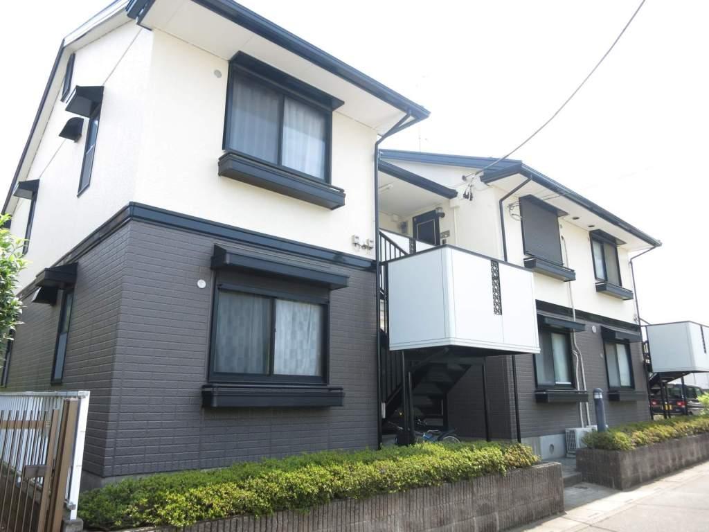 埼玉県入間市、武蔵藤沢駅徒歩12分の築22年 2階建の賃貸アパート