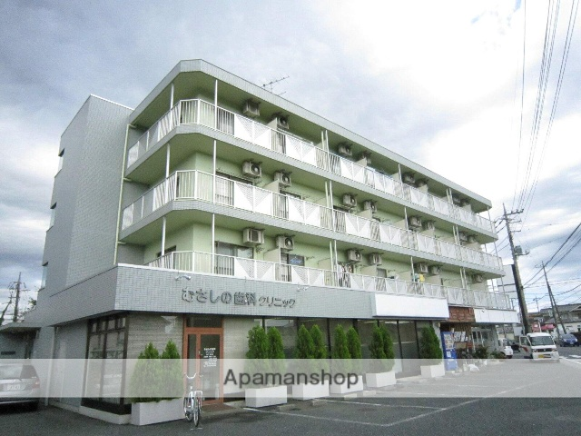 埼玉県飯能市、東飯能駅徒歩13分の築22年 4階建の賃貸マンション
