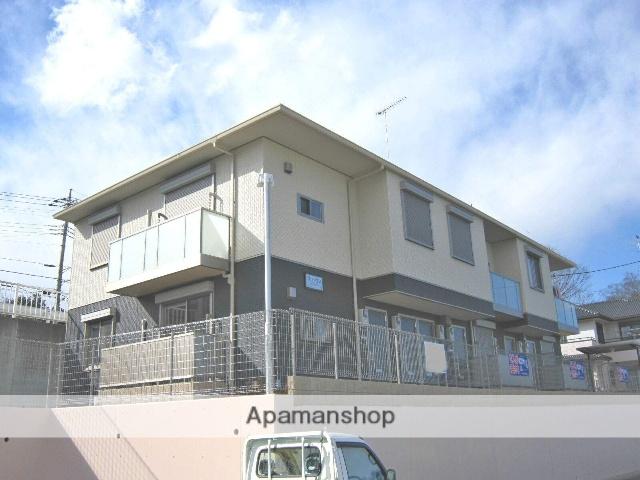 埼玉県飯能市、東飯能駅徒歩25分の築4年 2階建の賃貸アパート