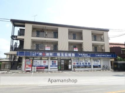 埼玉県入間市、仏子駅徒歩14分の築26年 3階建の賃貸マンション