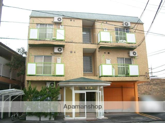 埼玉県入間市、武蔵藤沢駅徒歩5分の築27年 3階建の賃貸マンション
