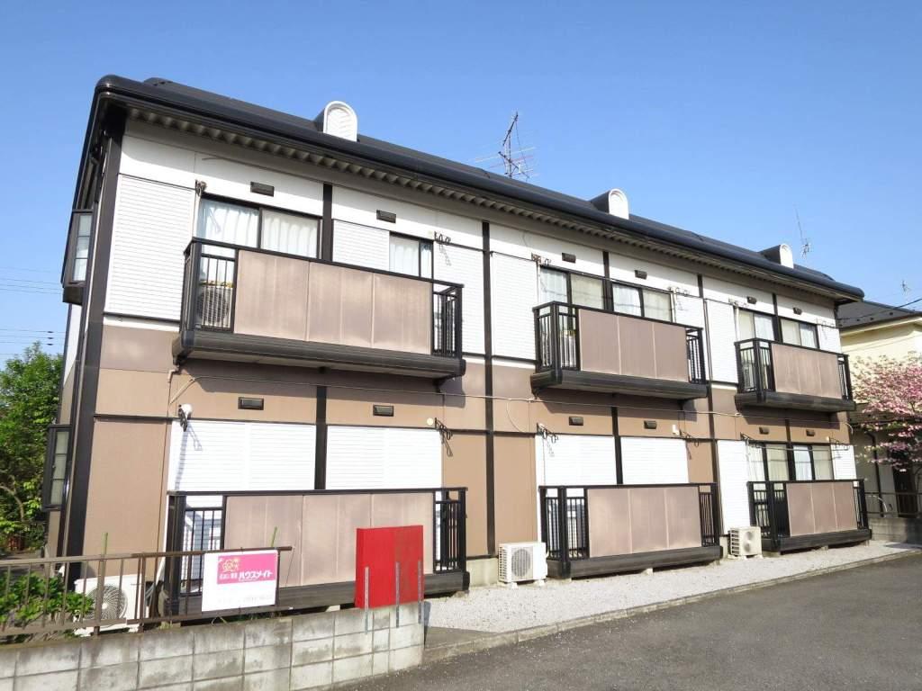 埼玉県入間市、入間市駅徒歩14分の築23年 2階建の賃貸アパート