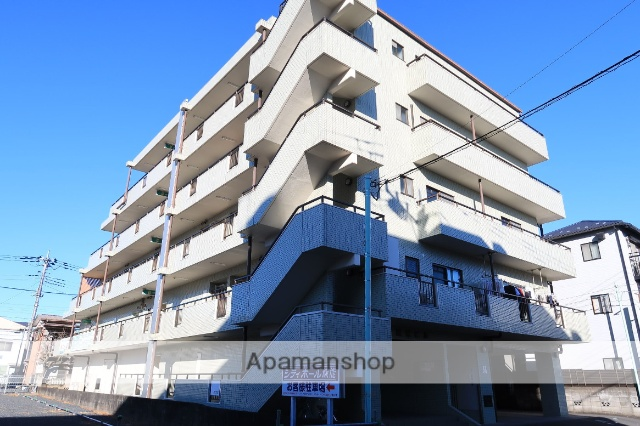 埼玉県飯能市、東飯能駅徒歩5分の築24年 5階建の賃貸マンション