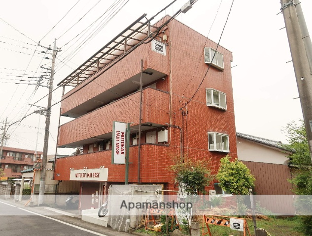 埼玉県入間市、元加治駅徒歩2分の築27年 4階建の賃貸マンション