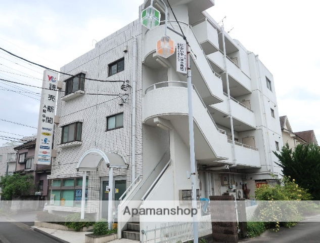 埼玉県入間市、仏子駅徒歩14分の築28年 4階建の賃貸マンション