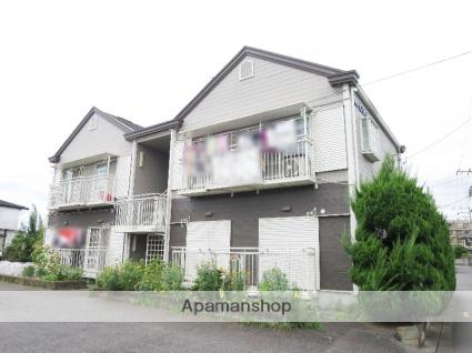埼玉県狭山市、入間市駅徒歩27分の築28年 2階建の賃貸アパート