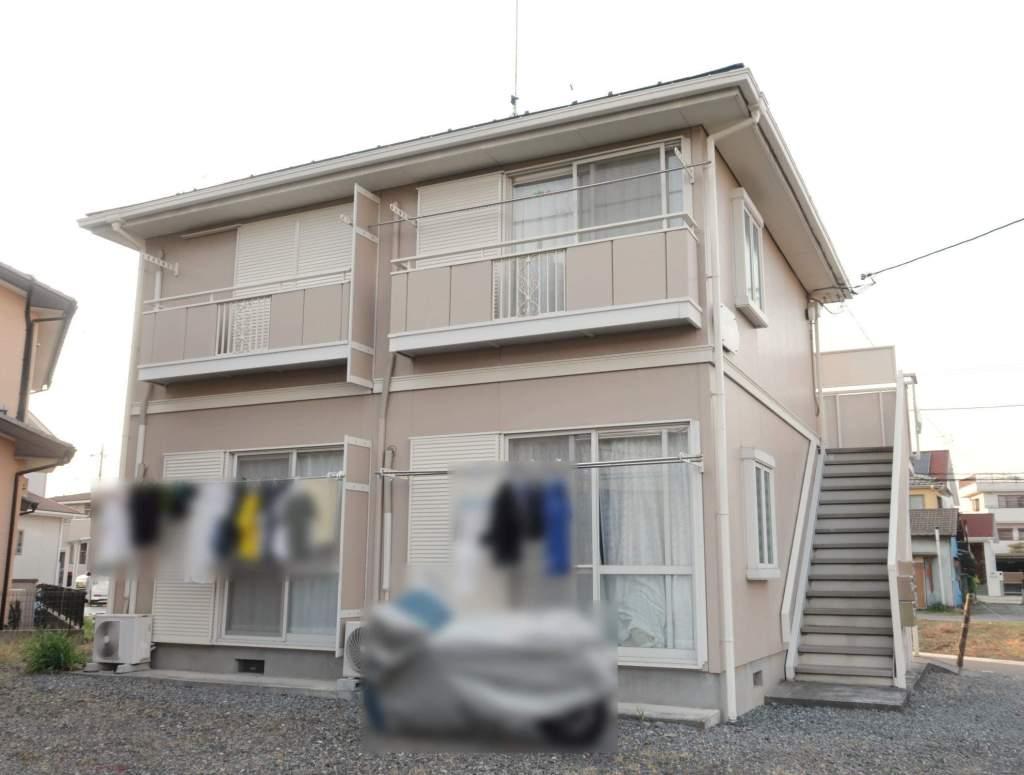 埼玉県飯能市、元加治駅徒歩5分の築22年 2階建の賃貸アパート