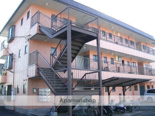 埼玉県狭山市、武蔵藤沢駅徒歩10分の築30年 3階建の賃貸マンション