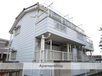 埼玉県飯能市、元加治駅徒歩8分の築25年 2階建の賃貸アパート
