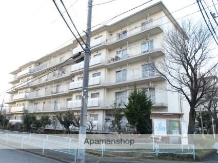 埼玉県狭山市、入間市駅徒歩25分の築40年 5階建の賃貸マンション