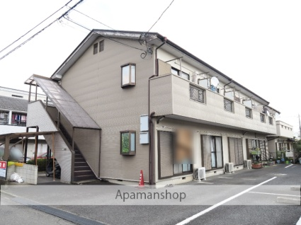 埼玉県飯能市、東飯能駅徒歩8分の築23年 2階建の賃貸アパート