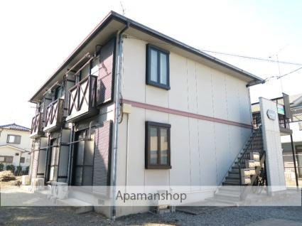 埼玉県飯能市、元加治駅徒歩8分の築21年 2階建の賃貸アパート