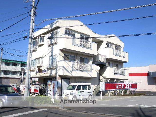 埼玉県飯能市、東飯能駅徒歩9分の築27年 3階建の賃貸マンション