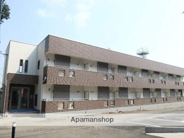 埼玉県狭山市、稲荷山公園駅徒歩8分の新築 2階建の賃貸アパート