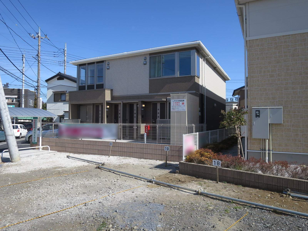 埼玉県飯能市、東飯能駅徒歩14分の新築 2階建の賃貸アパート
