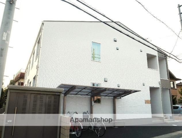埼玉県飯能市、元加治駅徒歩6分の新築 2階建の賃貸アパート