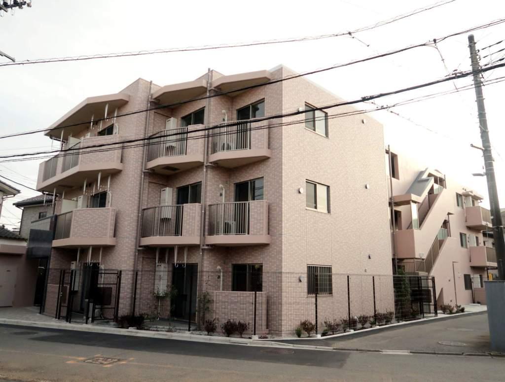 埼玉県入間市、武蔵藤沢駅徒歩4分の新築 3階建の賃貸マンション