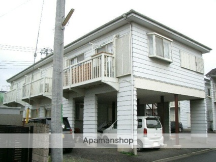 埼玉県飯能市、飯能駅徒歩20分の築24年 2階建の賃貸アパート