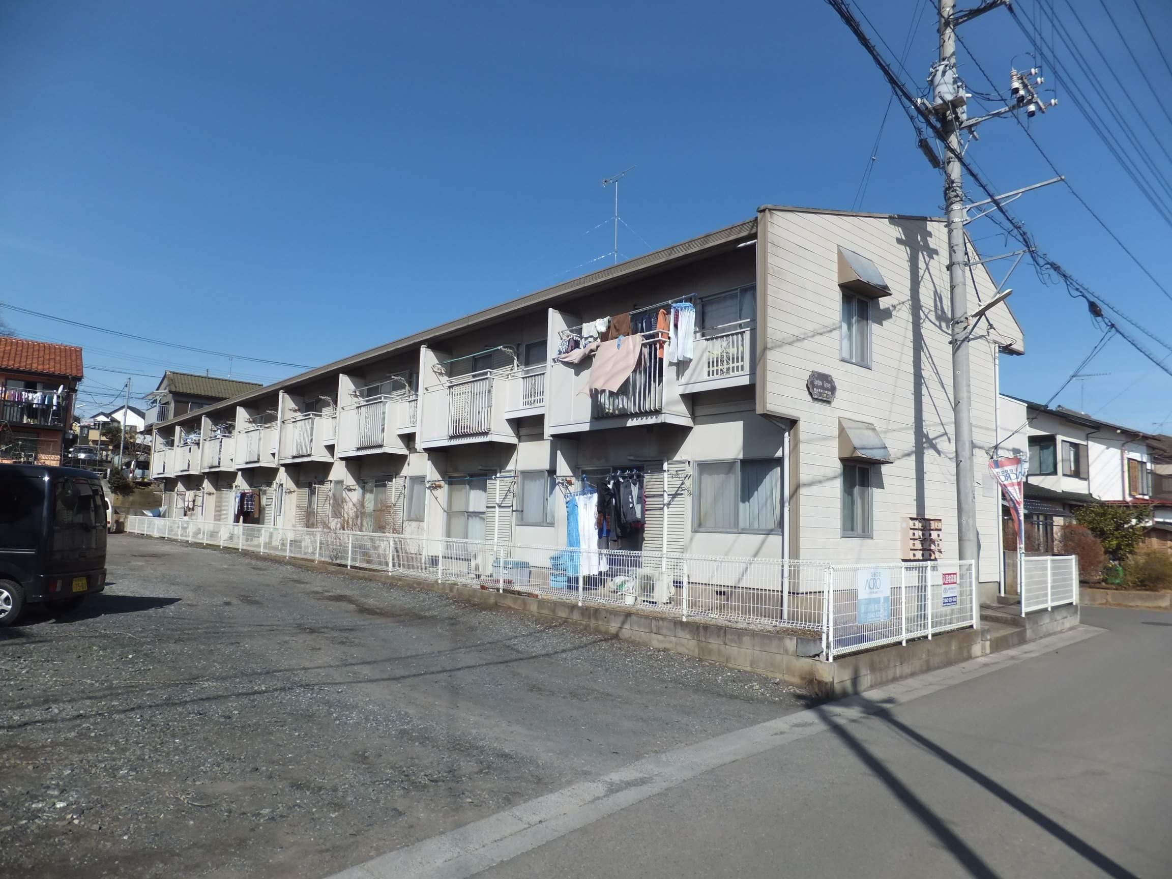 埼玉県狭山市、入曽駅徒歩15分の築30年 2階建の賃貸アパート