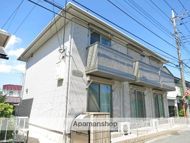埼玉県飯能市、元加治駅徒歩9分の築4年 2階建の賃貸アパート